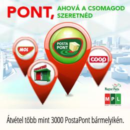 Szállítás Posta Pontra
