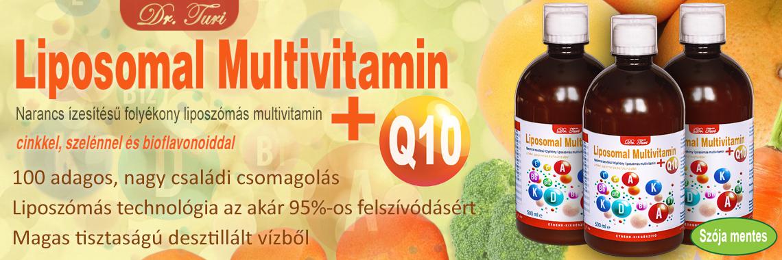 Dr. Turi Liposomal Multivitamin + Q10