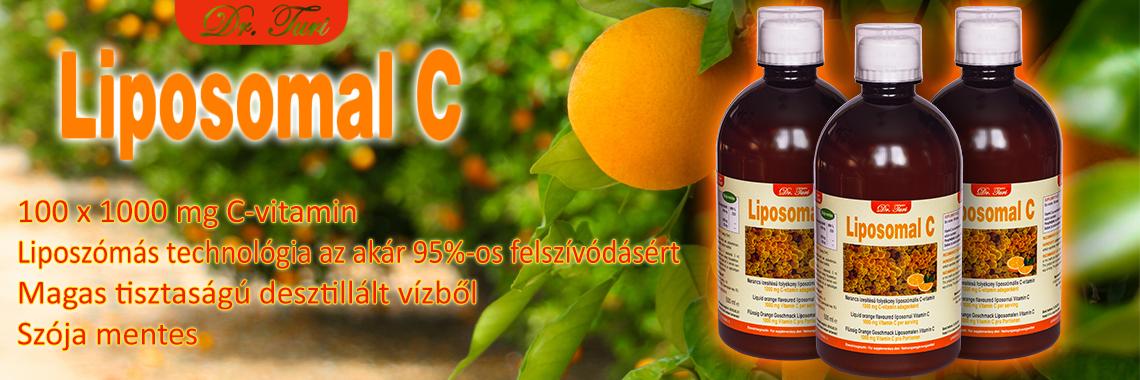 Ha C-vitamin, akkor Dr. Turi Liposomal C.