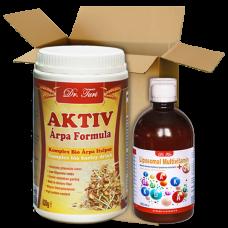 AKTIV Árpa Formula & Liposomal Multivitamin +Q10 csomag