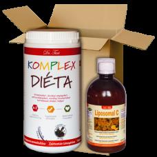 KOMPLEX Diéta & Liposomal C vitamin csomag